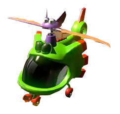 Yooka-Hélicoptère